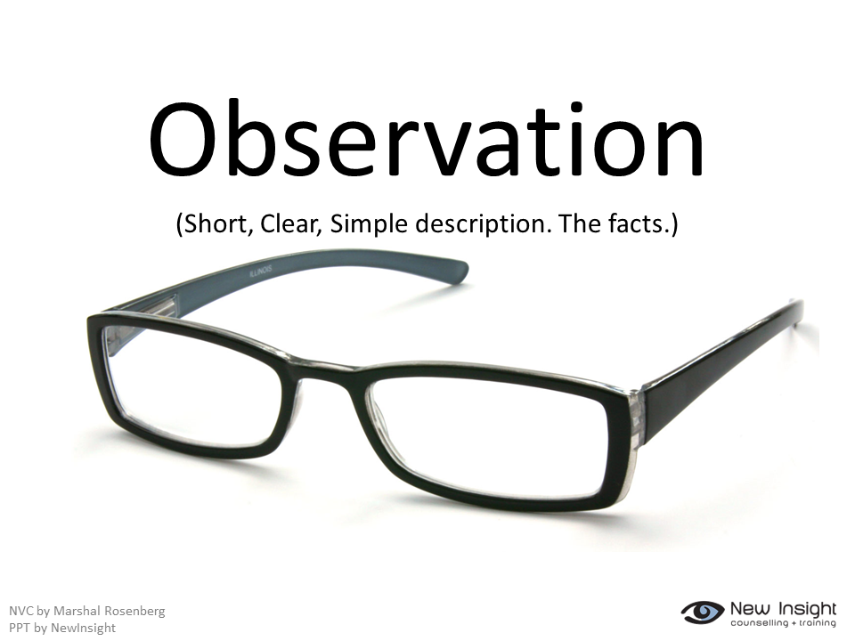 or observation Observation is an activity of an intelligent living being (eg human), which senses and assimilates the knowledge of a phenomenon in its framework of previous knowledge and ideas.