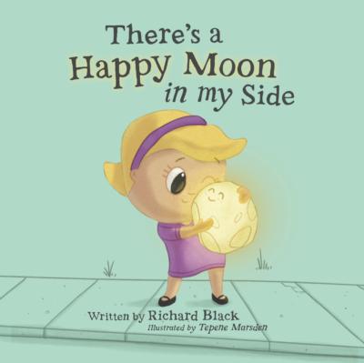 Happy moon in my side